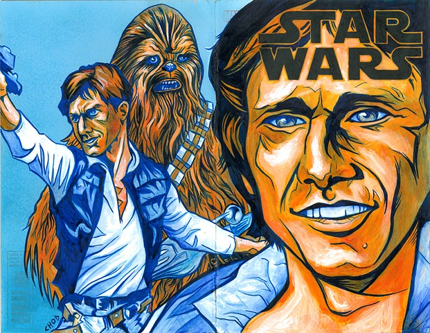 Star Wars #1 'Han' Sketch Cover