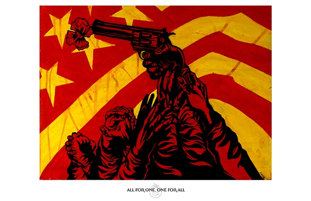 """All for One. One for All"" Print"