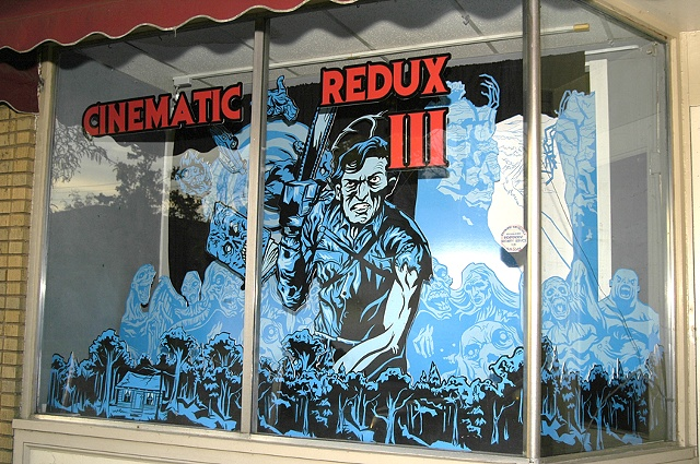 Cinematic Redux III Window Display