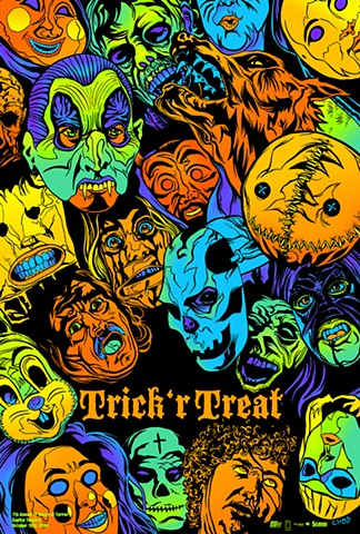 Trick 'r Treat poster art CHOD