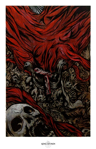 """King of Pain"" Print"