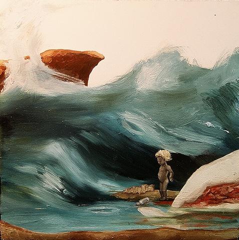 """gaby greenlee painting """"overlook II"""""""