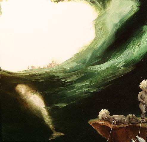"gaby greenlee painting ""overlook III"""
