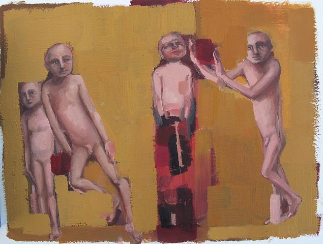 """gaby greenlee painting """"trial"""""""