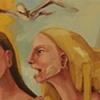 """gaby greenlee painting """"storyteller"""""""