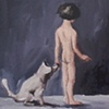 """gaby greenlee painting """"lesson"""""""