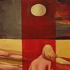 """gaby greenlee painting """"a vigil"""""""