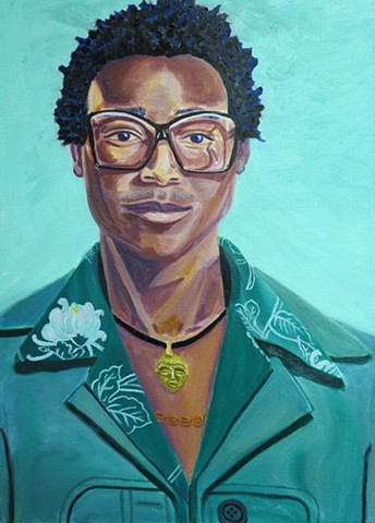 Self-Portrait of the Artist Kwadwo Adae