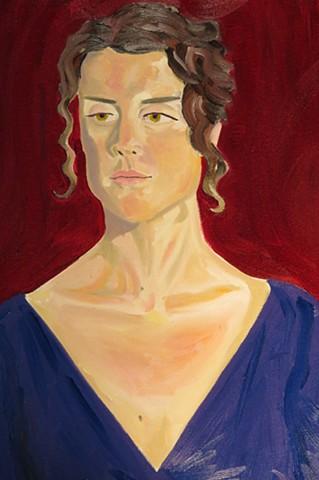 Portrait of the Opera Singer & Novelist Vivien Shotwell