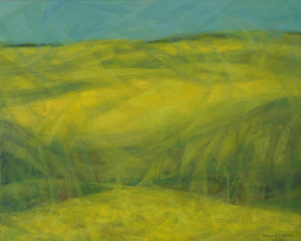 Yellow Landscape II - French Canola Fields