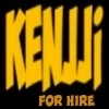KENJJI FOR HIRE