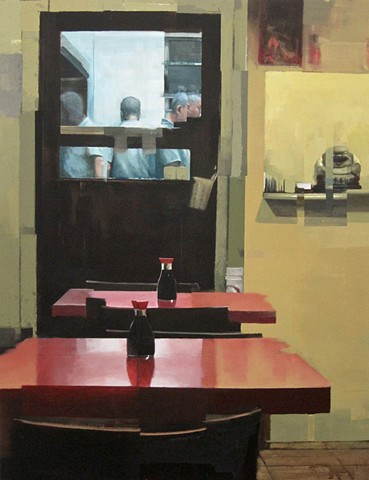new york artist ryan m reynolds urban interior paintings landscape