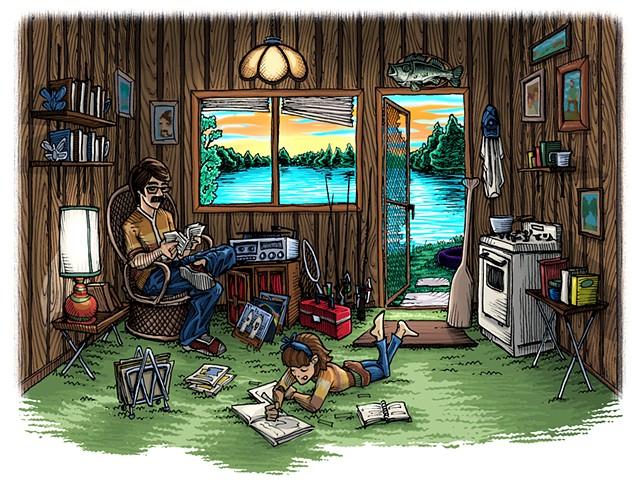 70's Cabin