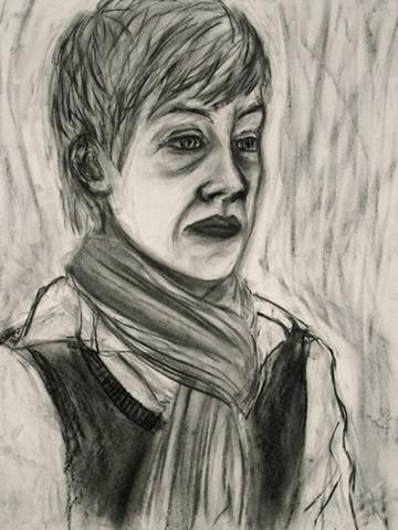 Portrait of Ms. Yergens by Yoo Rim Kim