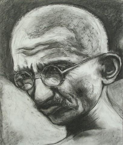 Value Study of Ghandi