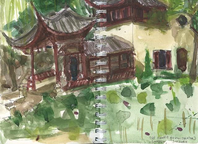 The Humble Administrator's Garden. Suzhou, China.