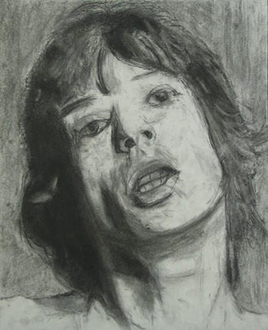 Value Study of Mick Jagger