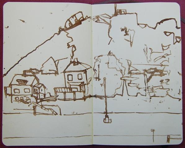 Sketch from Lofoten