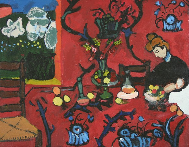 """Copy of Matisse's """"The Red Room"""""""