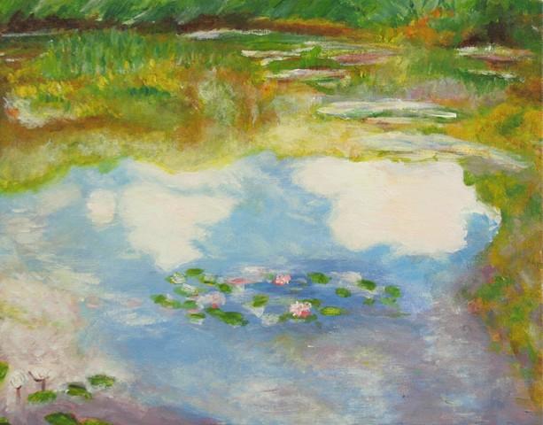 """Copy of Monet's """"Waterlilies"""""""