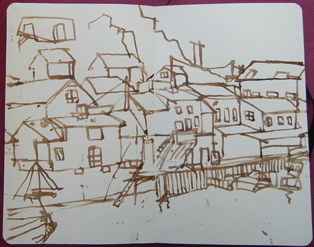 Sketch from Stamsund, Lofoten