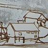 Sketch from Sakrisøy, Lofoton