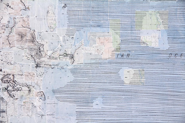 Remaking the Map of the World, Dubai. (detail)