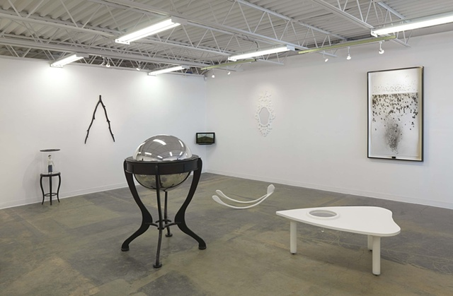 In Search Of,  (installation view, Lamontagne Gallery Boston MA.)
