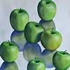 Green Apple Triptych