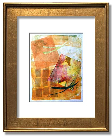 Abstract composition with rich colors suggesting Indian Summer