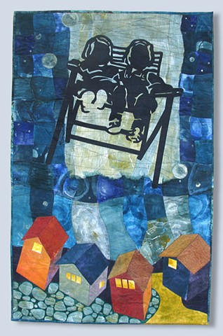 "Two Art Quilts selected for Florida CraftArt ""Well Crafted Tale"""
