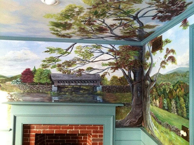 Dining Room Mural #1