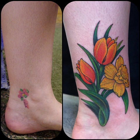 Flower Coverup