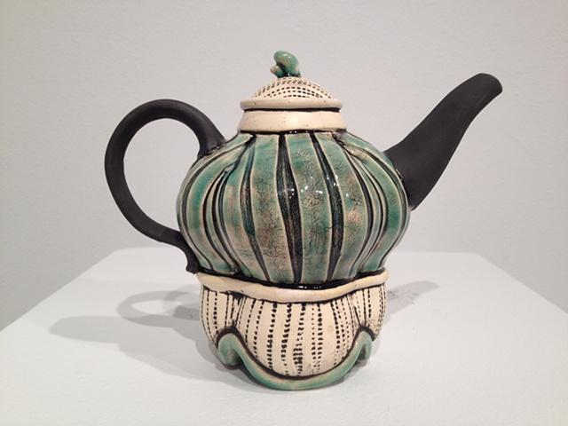 Slab built teapot