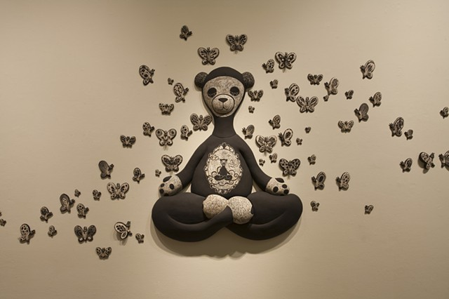 Meditation Bear: Inner Bearing