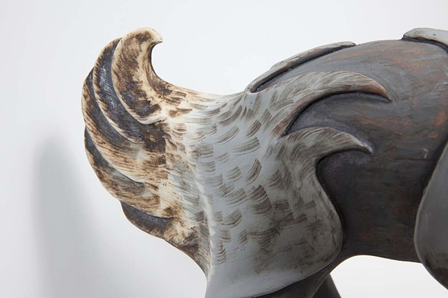 Rhinoduck tail detail