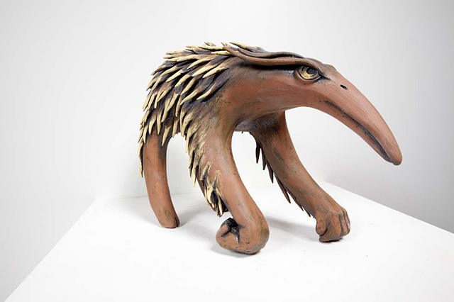 Morphed Echidna, side view