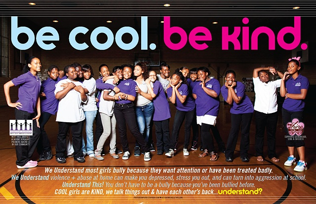be cool be kind poster