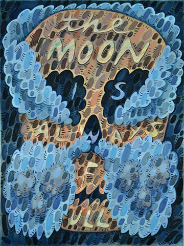 Untitled (the moon is always full)