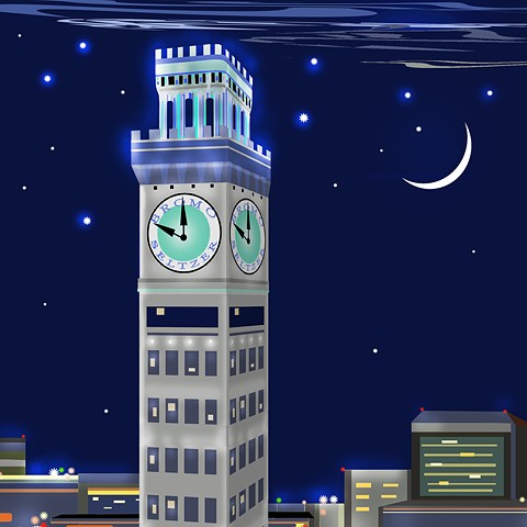 NEW Bromo Seltzer Tower