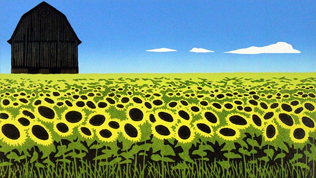 Emily Gray Koehler - Cultivating Sunflowers