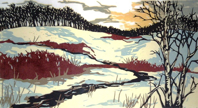 Emily Gray Koehler - Red Osier Winter