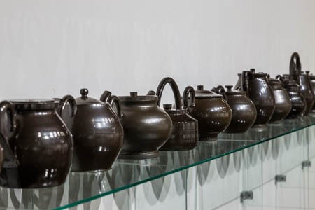 Black Salt Teapot Series (Installation)