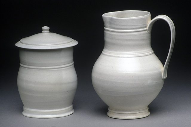 Milk Pitcher & Sugar Pot