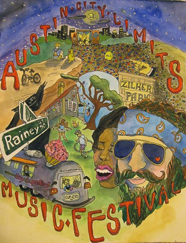 Austin City Limits Music Festival Design