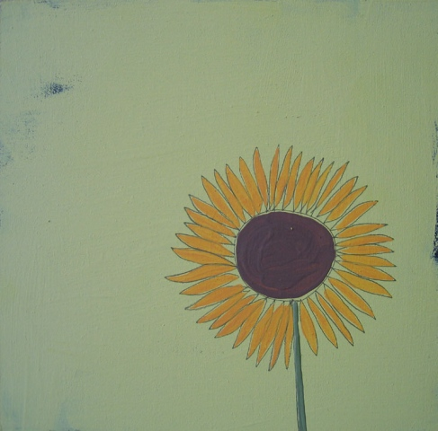 Singular Sunflower