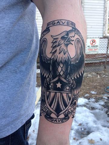 eagle tattoo