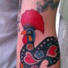 gallo de barcelos ditch tattoo
