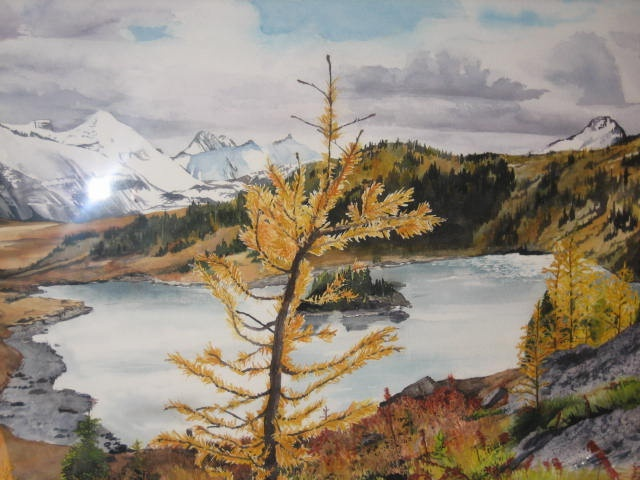 Larch on the Mountain