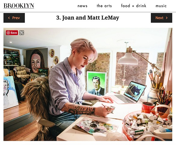 I'M IN BROOKLYN MAGAZINE!